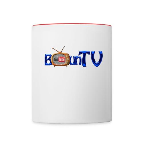 BounTV Logo - Tasse zweifarbig