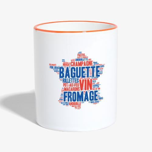France 2 couleurs - Mug contrasté
