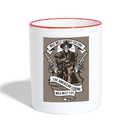 Wild West Cowboy - Mug contrasté