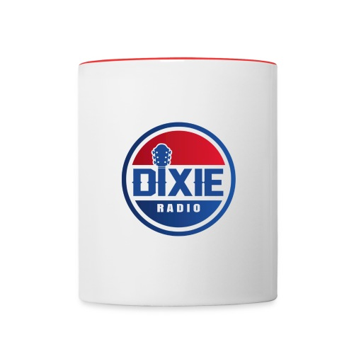 Dixie Radio Main Logo - Tvåfärgad mugg