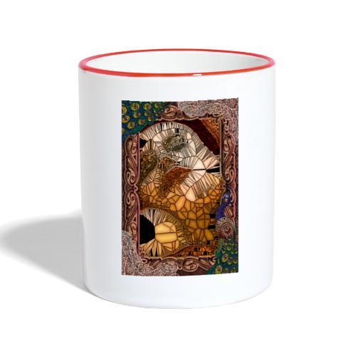 ephemeral vitrail new - Mug contrasté