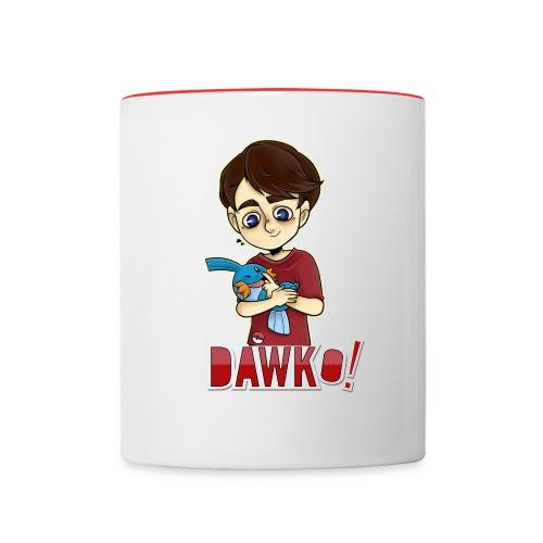 Dawko and mudkip - Contrasting Mug