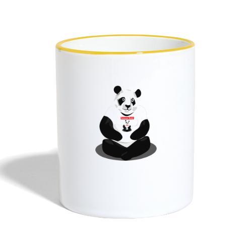 panda hd - Mug contrasté