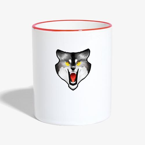 Loup Gris - Mug contrasté