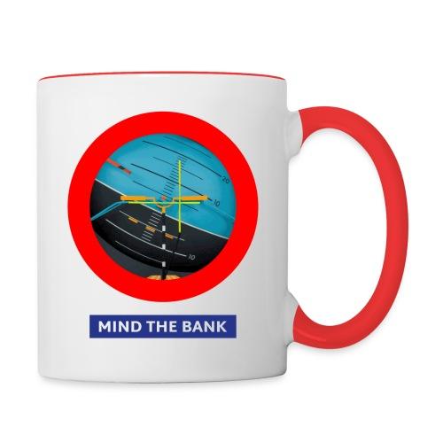 mindthebank1 - Tasse zweifarbig