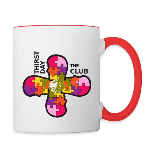 DuClub Original - Tasse zweifarbig