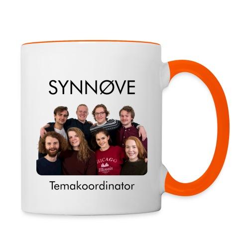 Synnøve - Tofarget kopp