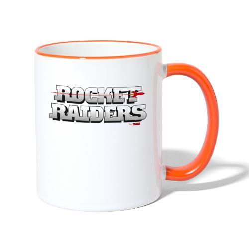 patame Rocket Raiders Logo - Tasse zweifarbig
