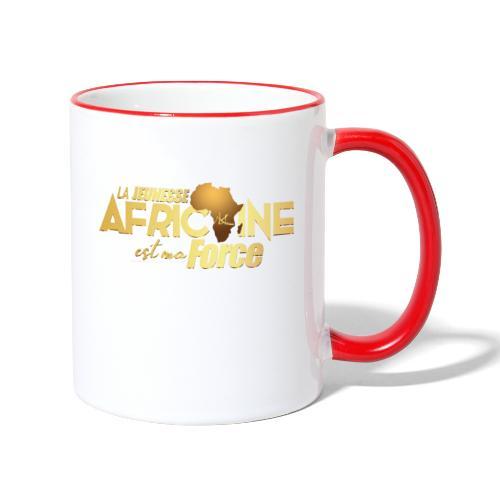 La jeunesse africaine est ma force - Mug contrasté