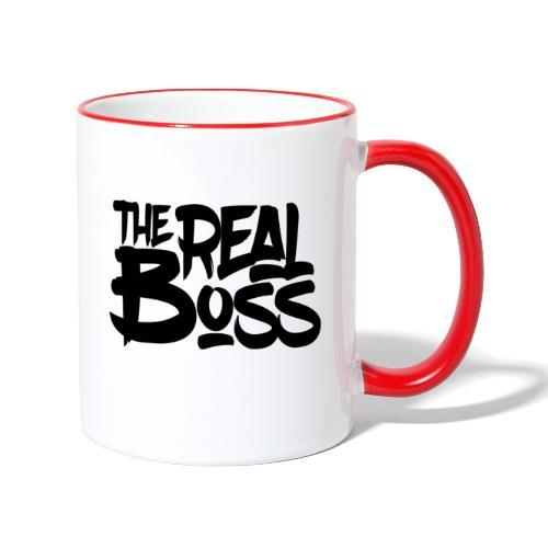The real boss / Le vrai patron - Mug contrasté