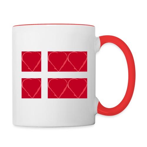Dänemark 21.2 - Tasse zweifarbig