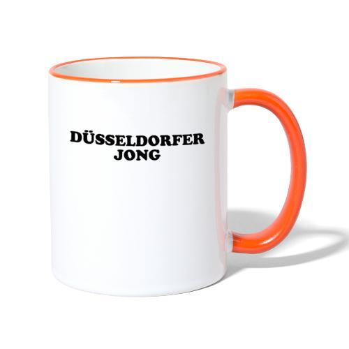 Düsseldorfer Jong - Tasse zweifarbig