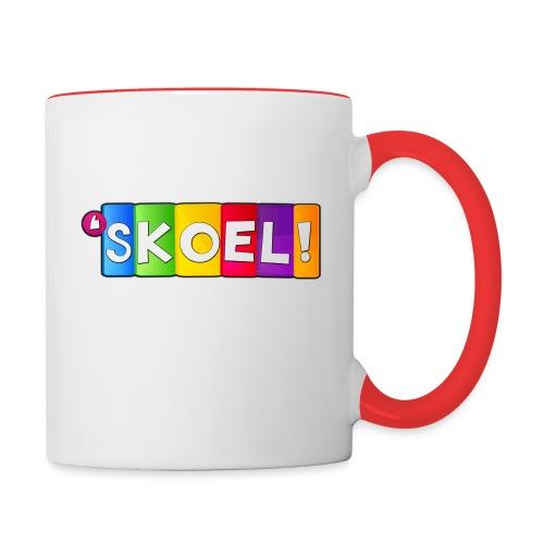 SKOEL merchandise - Mok tweekleurig