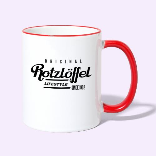 Rotz-L - Tasse zweifarbig