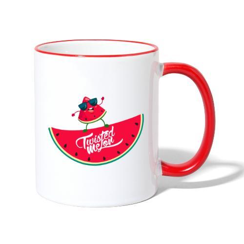 Twiste Melon - Contrasting Mug