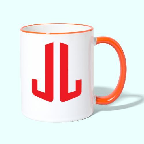 BodyTrainer JL - Kaksivärinen muki