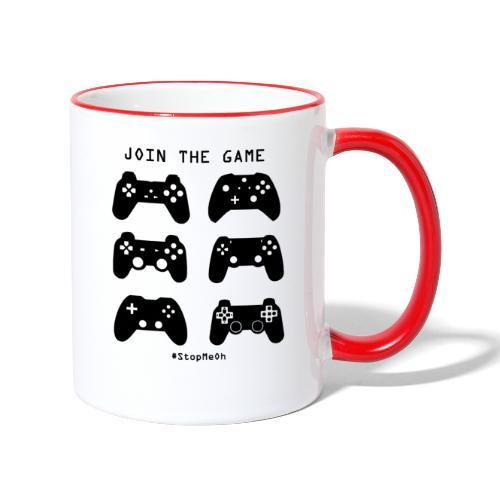 Join The Game - Contrasting Mug