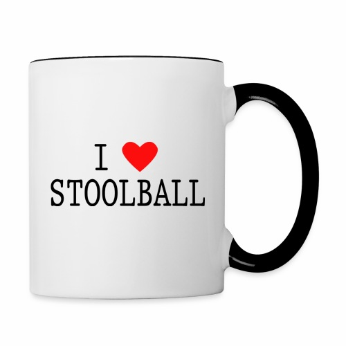 I Love Stoolball - Contrasting Mug