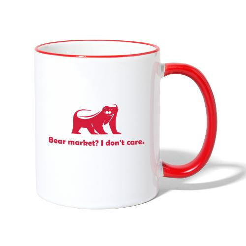 CryptoFR I don't care - Mug contrasté