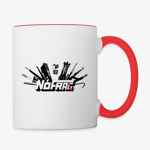 NoFrag - Spécial 20 Ans : Armurerie & Cake - Mug contrasté