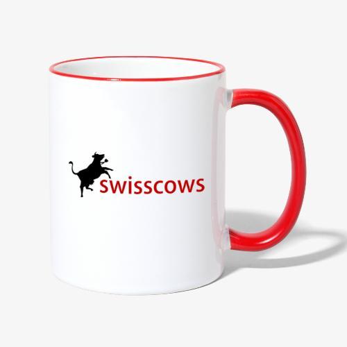 Swisscows - Tasse zweifarbig