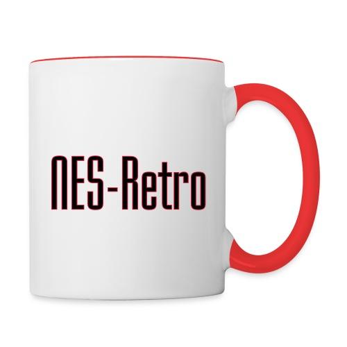NES-Retro - Kaksivärinen muki
