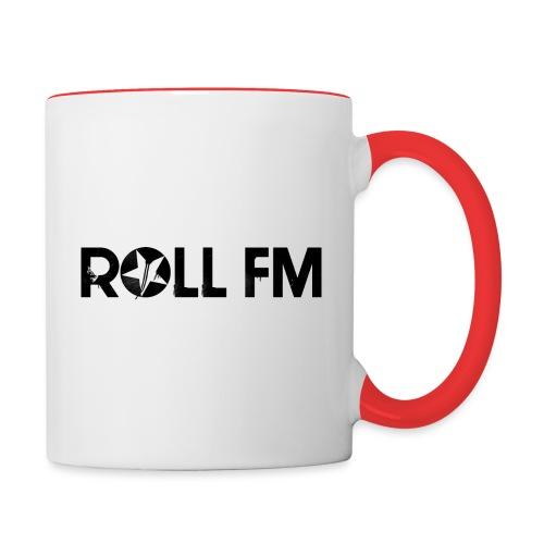 Roll FM - Black - Kaksivärinen muki