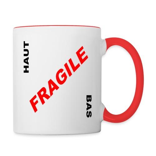 FRAGILE - Mug contrasté