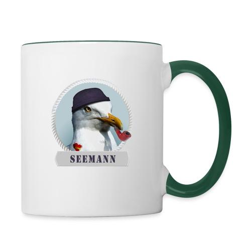 Seemann - Tasse zweifarbig