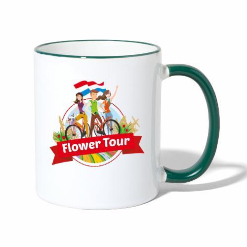 Flower Tour rondom Keukenhof - Mok tweekleurig