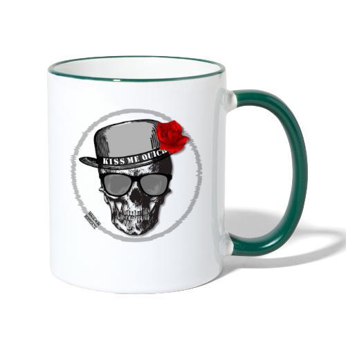 Kiss Me Quick - Contrasting Mug