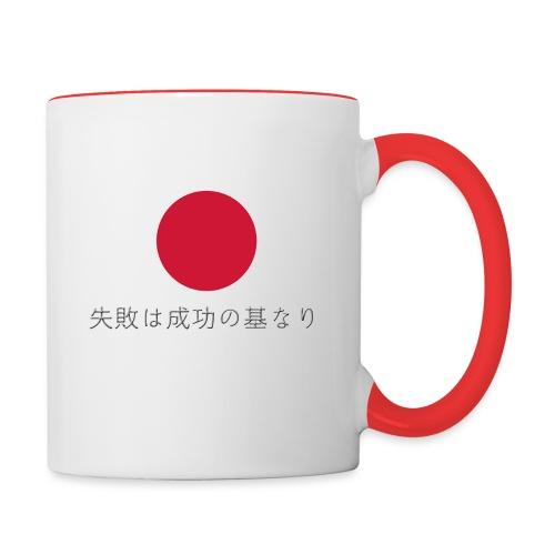 L'échec est la base du succès - Mug contrasté