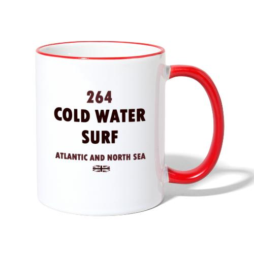 COLD WATER SURF - Contrasting Mug