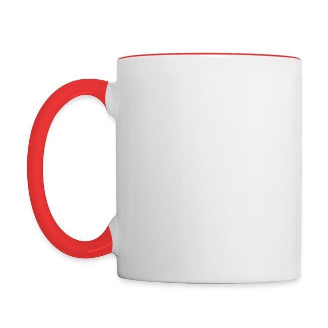 Vorschau: liebe hundemama - Tasse zweifarbig