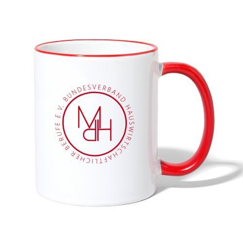 MdH-Siegel - Tasse zweifarbig