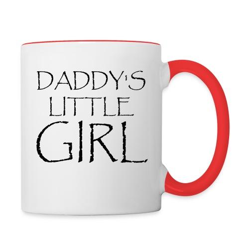 DADDY'S LITTLE GIRL - Tasse zweifarbig
