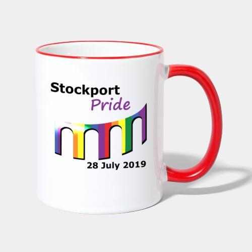 Stockport Pride 2019 - Contrasting Mug