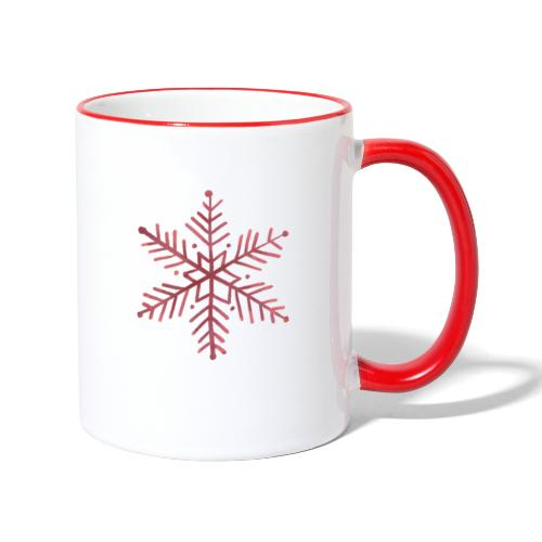 snowflake - Mug contrasté