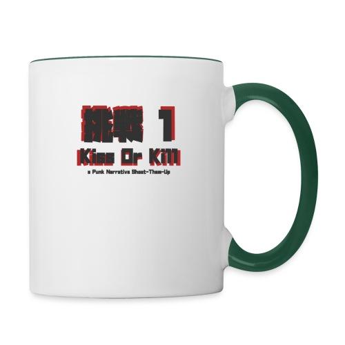Gaijin Charenji 1 : Kiss or Kill - Mug contrasté