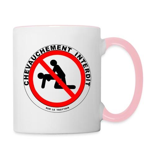 INTERDIT - Mug contrasté