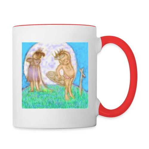 Arthur & Guinevere.. before things got complicated - Contrasting Mug