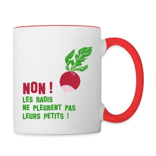 radis - Mug contrasté