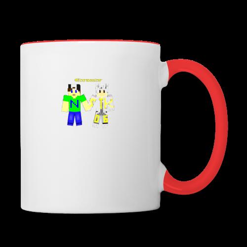 varox2_v1_design_2 - Tasse zweifarbig