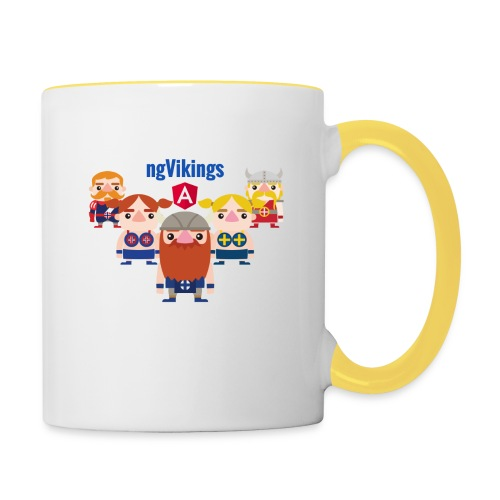 Viking Friends - Contrasting Mug