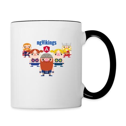 Viking Friends - Contrasting Mug