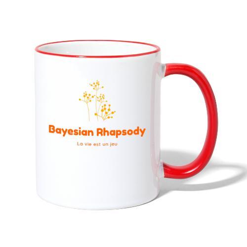 Bayesian Rhapsody Original Orange classique - Mug contrasté
