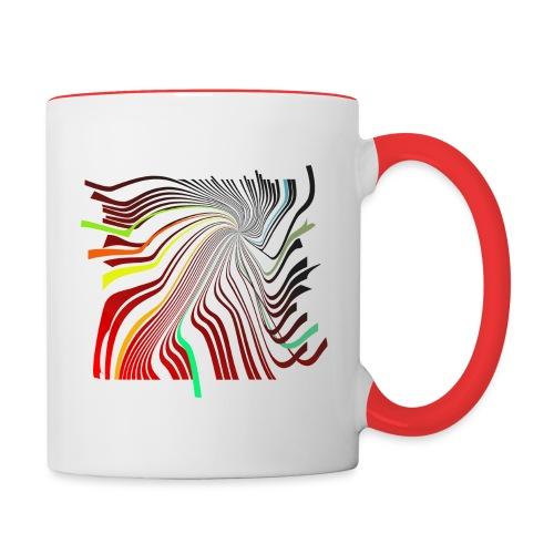Spirale 01 - Tasse zweifarbig