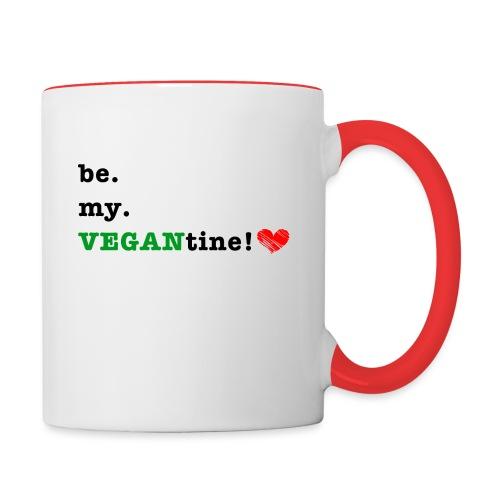 VEGANtine Green - Contrasting Mug