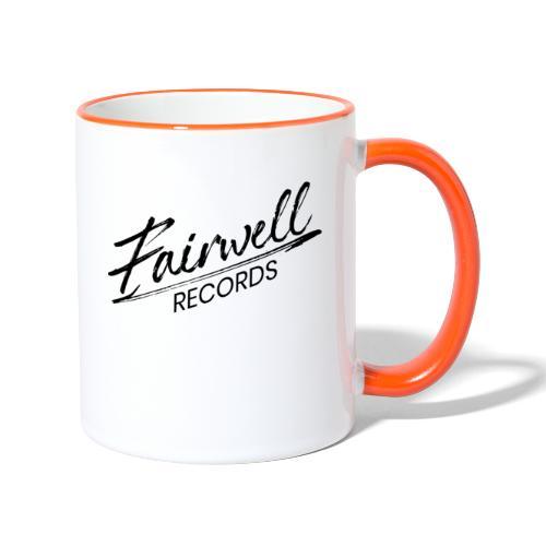 Fairwell Records - Black Collection - Tofarvet krus
