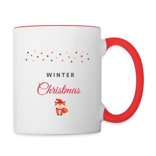 Winter Christmas Noël - Mug contrasté